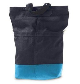 Linus Bikes Sac Rear Bag Navy/Aqua