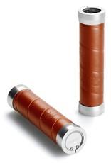 Brooks Slender Grips - Leather - Honey