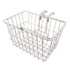 Wald Basket Front 3133 Lift-off 14x9x9 White