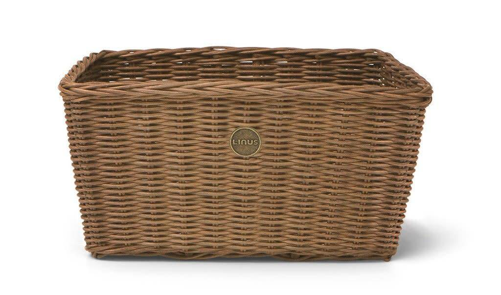 Linus Bikes Basket Rattan Farmers Natural