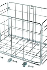 Wald Basket Rear Folding 582 Silver