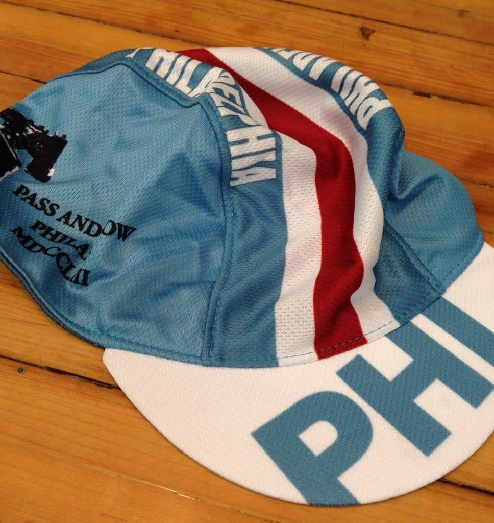 GoCycling Philly cycling cap - blue