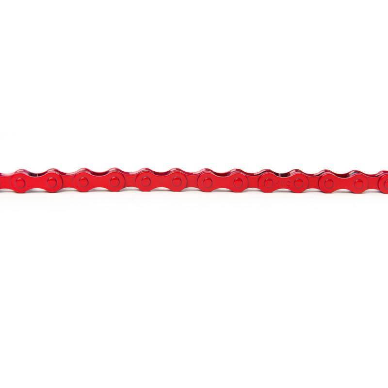 "KMC Chain Z410 x 112L 1/8"" Red"