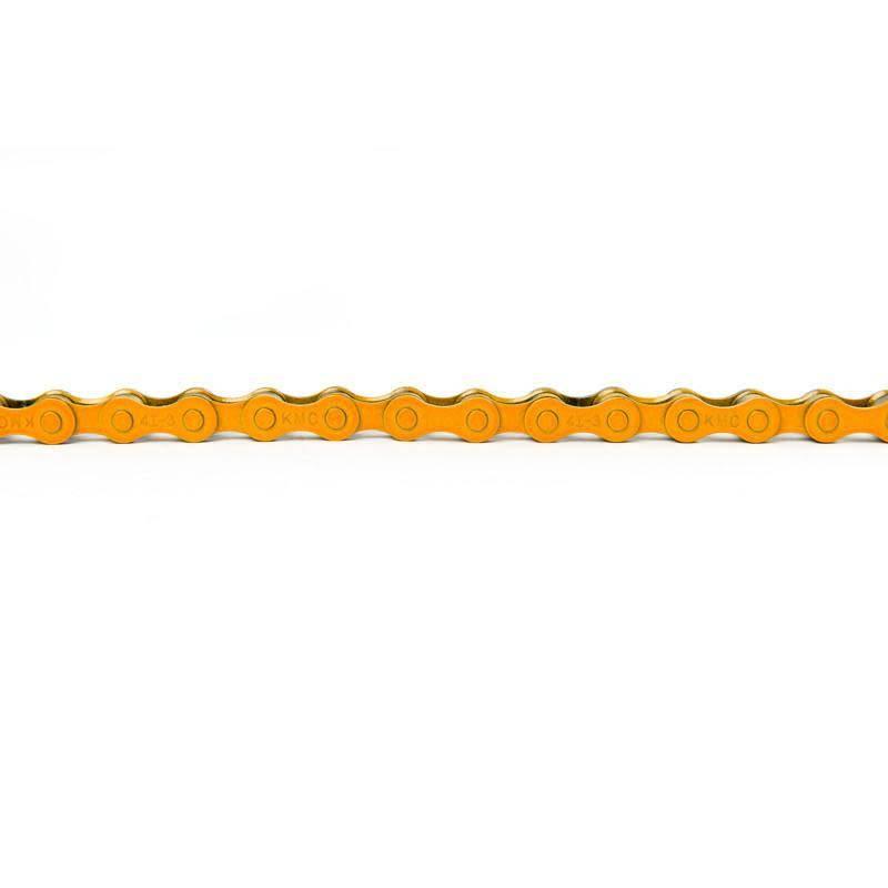 "KMC Chain Z410 x 112L 1/8"" Orange"