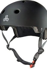 Triple 8 Helmet Brainsaver Black Rubber S/M