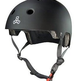Triple 8 Helmet Triple8 Brainsaver Black Rubber XS/S