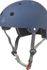 Triple 8 Helmet Brainsaver Blue Rubber S/M