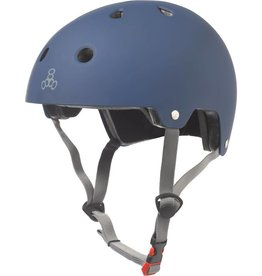 Triple 8 Helmet Brainsaver Blue Rubber S/M