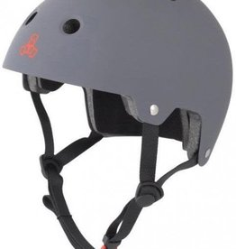 Triple 8 Helmet Triple8 Brainsaver Gray Rubber L/XL