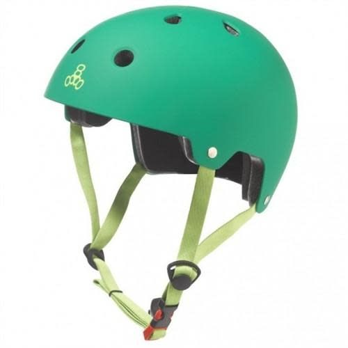 Triple 8 Helmet Brainsaver Kelly Green L/XL
