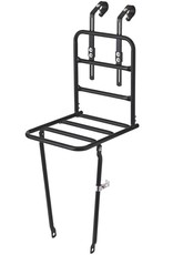 Basil Front Carrier Rack Black