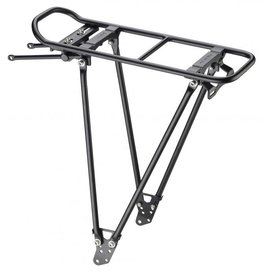 Racktime Foldit Rear Rack: Black