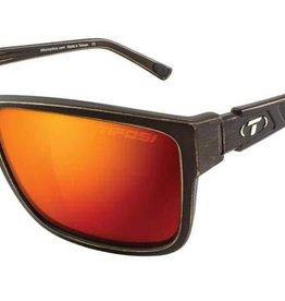 Tifosi Sunglasses Tifosi Hagen XL Distressed Bronze/Red Polarized