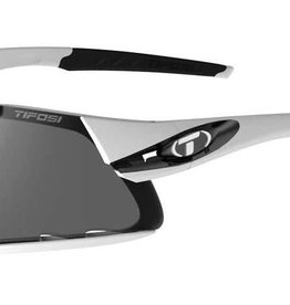 Tifosi Sunglasses Davos White Black/Smoke, Red, Clear