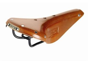 Brooks B17 Narrow Saddle - Honey