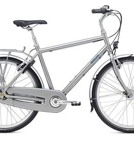 "Breezer Uptown 8 Medium 19.5"" Satin Grey"