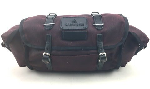 Carradice Barley Saddlebag Burgundy