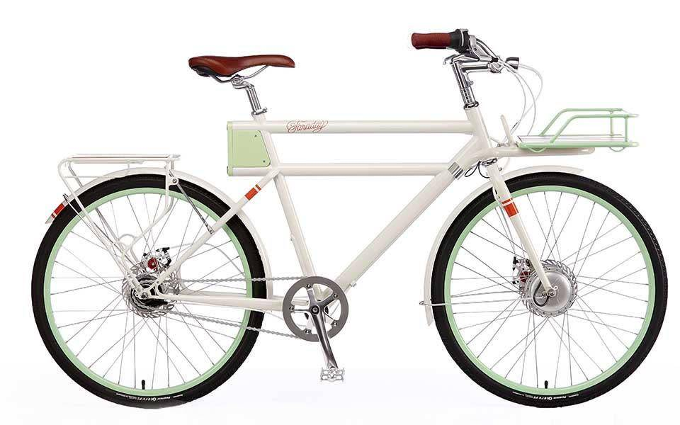 Faraday Bicycles Porteur S LG 59cm White