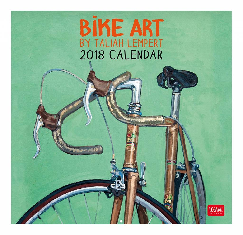 Taliah Lempert 2018 Bicycle Art Calendar