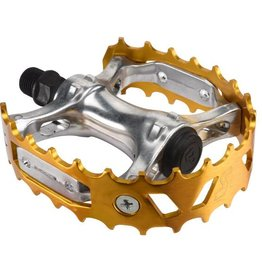 SE BIKES Pedals Bear Trap 9/16 Gold