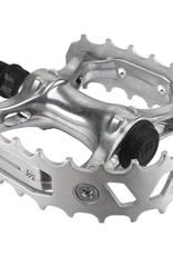SE BIKES Pedals BMX SE Bikes Bear Trap 9/16 Silver