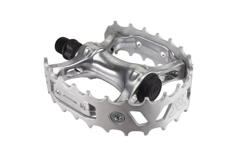 SE Racing Pedals BMX SE Racing Bear Trap 9/16 Silver