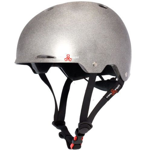 Triple 8 Helmet Gotham Darklight Reflective L/XL