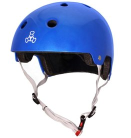 Triple 8 Helmet Brainsaver Metallic Blue S/M