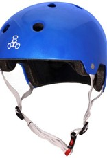 Triple 8 Helmet Brainsaver Metallic Blue XS/S