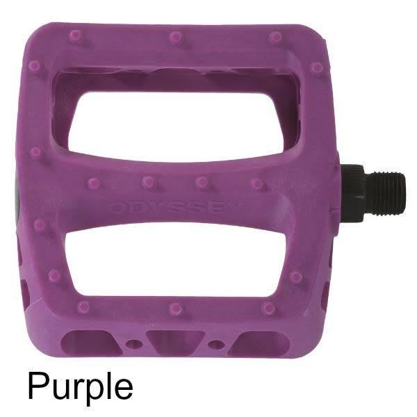 Odyssey Pedals BMX Twisted PC 9/16 Purple