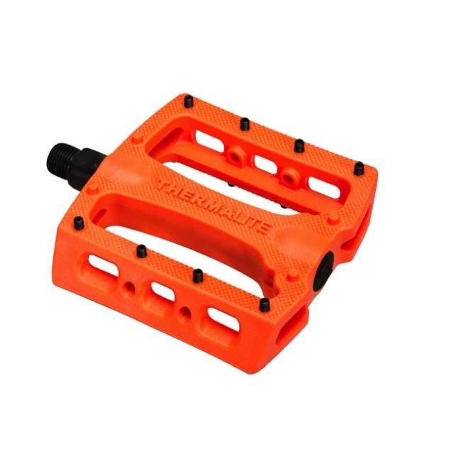 Stolen Pedals BMX Thermalite 9/16 Neon Orange