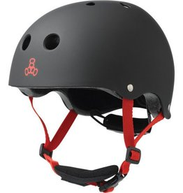 Triple 8 Helmet Lil 8 Black Rubber