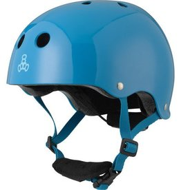Triple 8 Helmet Lil 8 Gloss Blue