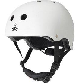 Triple 8 Helmet Lil 8 Gloss White