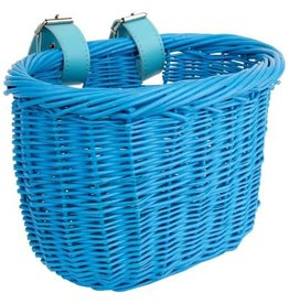 Basket Kids Wicker Blue