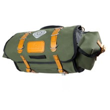 Carradice Barley Saddlebag Green