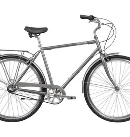 Pure Cycles Pure City Upton 3sp 58/L Grey/Black