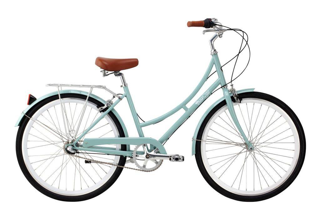 Pure Cycles Pure City Crosby 3sp 43/S Sea Foam/White