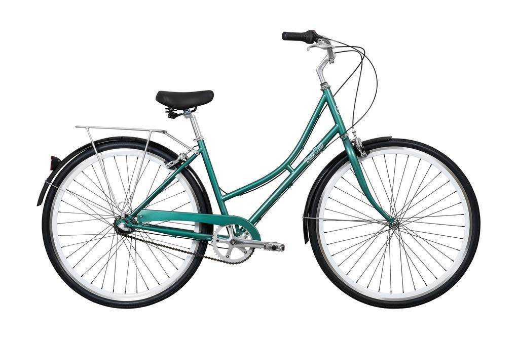 Pure Cycles Pure City Pearl 3sp 45/M Dark Green/White