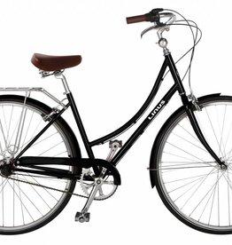 Linus Bikes Dutchi 3 Black Small/41cm/26