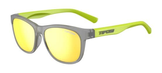 Tifosi Sunglasses Swank Vapor/Neon Smoke Yellow