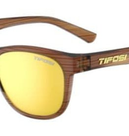 Tifosi Sunglasses Swank Woodgrain/Smoke Yellow