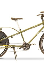 Yuba Bicycles Mundo Lux V5 Chromoly 24sp Olive