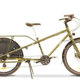 Yuba Bicycles Mundo Lux V5 Chromoly 24sp Olive