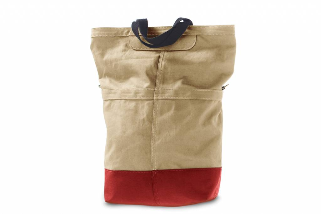 Linus Bikes Rear Bag Sand/Red