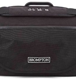 Brompton S Bag & frame with Black Flap