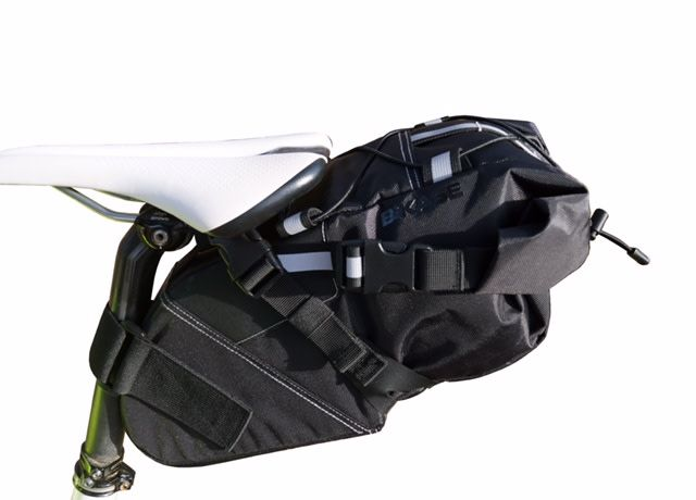 Seat Bag Packer Medium 550ci Black