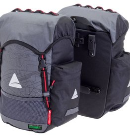 Panniers Seymour O-Weave Grey/Black 35L (pair)