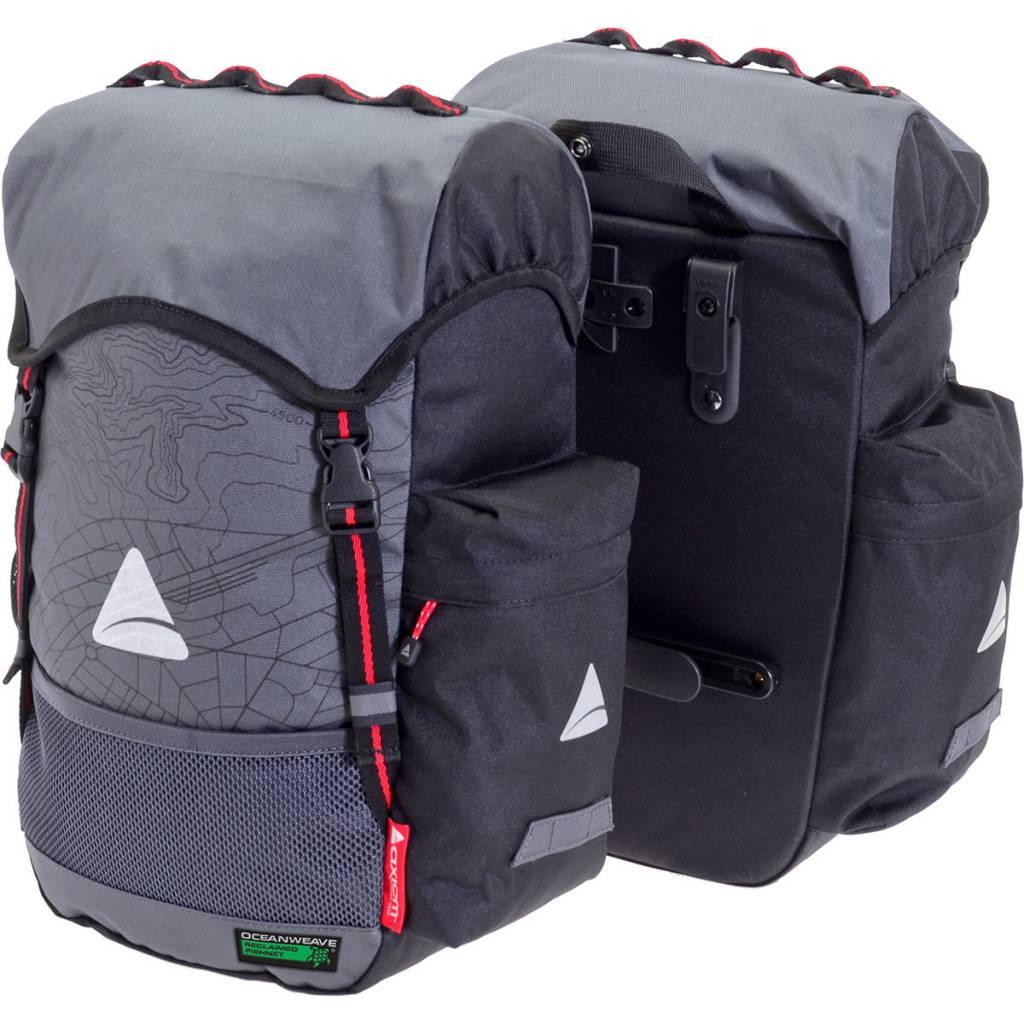 Panniers Seymour O-Weave Grey/Black 35L (pair)