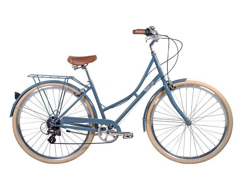 Pure Cycles City Laurel 8sp 43/S Grey Blue/White